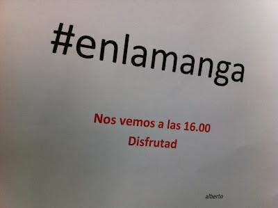 Una invitación interesante y curiosa #enlamanga algo se mueve, Mario Schumacher Blog