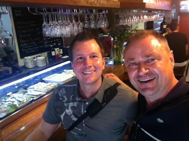 Lasse Rouhiainen y Mario Schumacher en Alicante