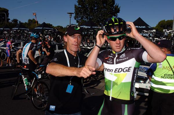 Equipo Orica-GreenEDGE con Neil Stephens en Calpe (Costa Blanca), Mario Schumacher Blog