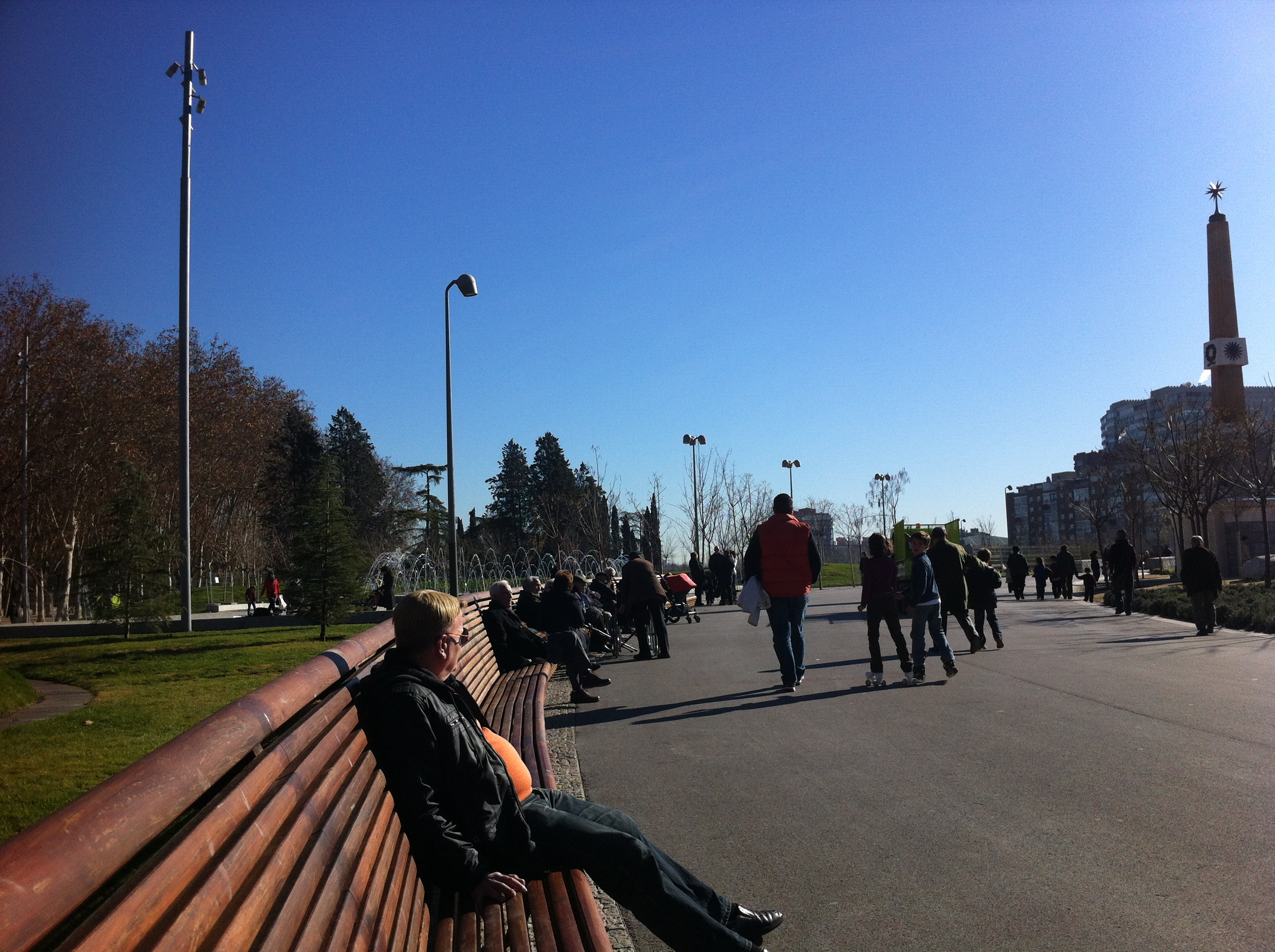 ¡Una pasada …el nuevo pulmón de Madrid, junto al Río Manzanares!, Mario Schumacher Blog