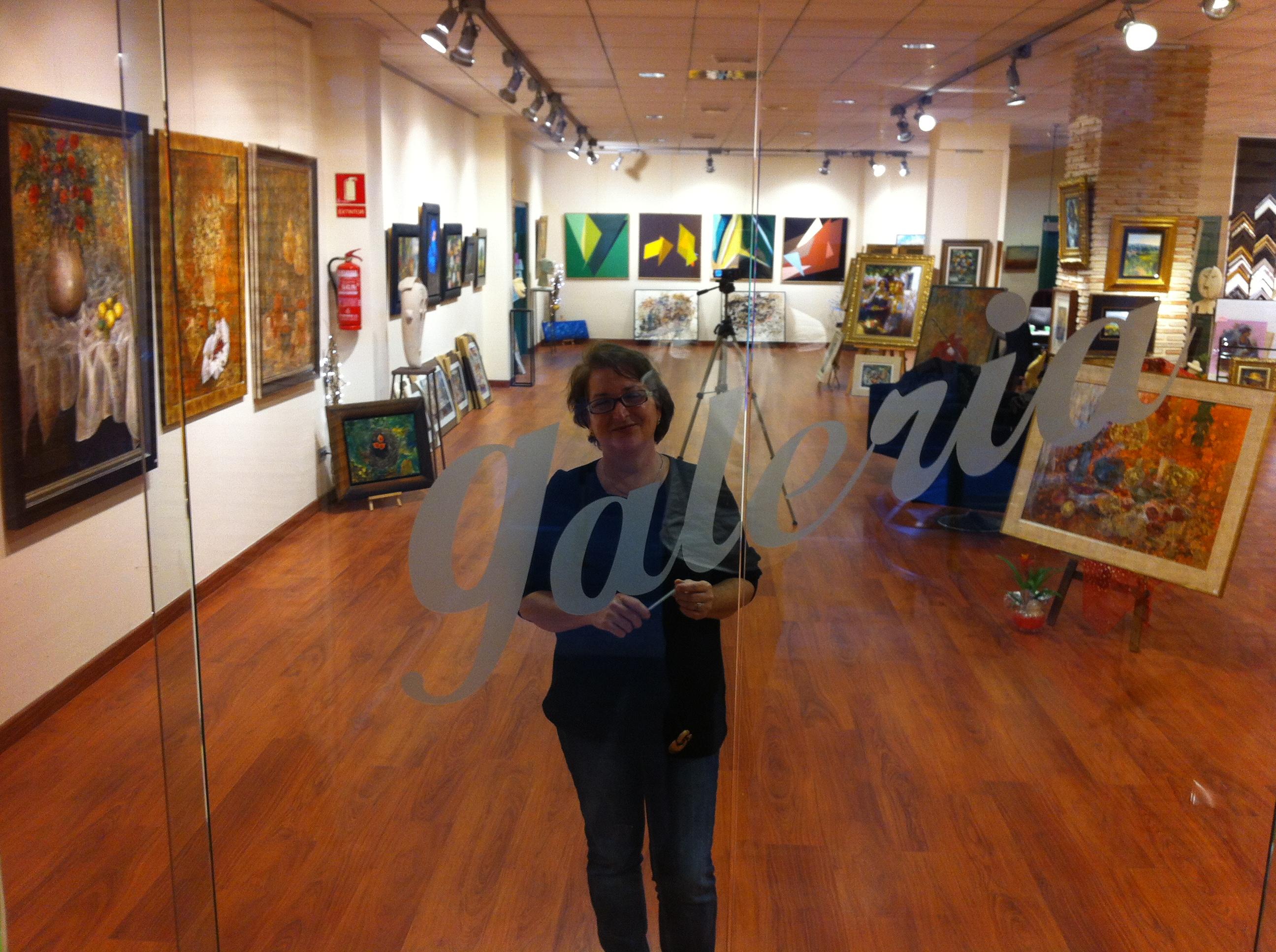 "Artista con corazón o Künstlerin mit Herz ""Lola Llinares"" – Calpe (Costa Blanca), Mario Schumacher Blog"