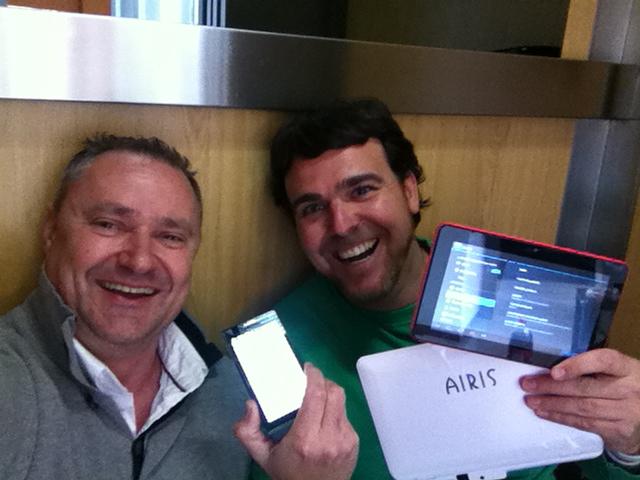 Videos con diferencia en el ascensor con José Juan Muñoz y Mario Schumacher - Curso CDT Benidorm