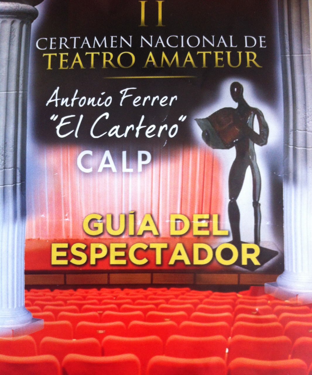 "II Certamen Nacional de Teatro Amateur ""Antonio Ferrer"" - Calpe 2013"