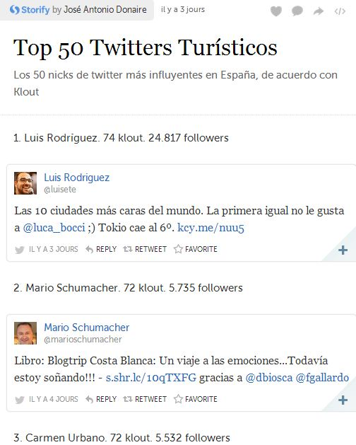 La vida da muchas vueltas… influyentes twitters de turismo en España, Mario Schumacher Blog