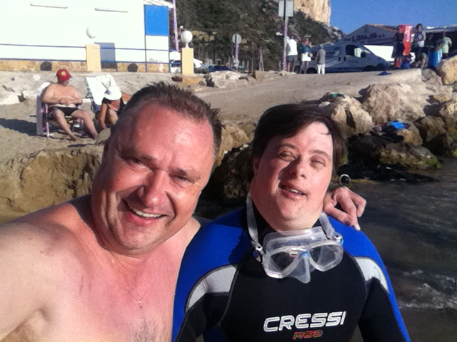 La he visto …. felicidad en las caras sonrientes de los ponentes especiales en el #MDiveShow buceando en la Costa Blanca, Mario Schumacher Blog