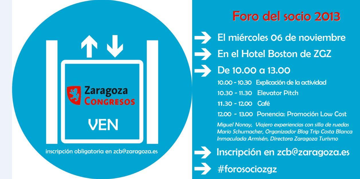 Increíble: Volver a Zaragoza en el Día del Socio del Zaragoza Convention Bureau, Mario Schumacher Blog