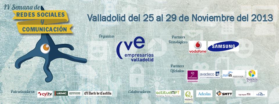 Valladolid me llama… el 27.Noviembre en la IV.Semana de las Redes Sociales y Comunicación, Mario Schumacher Blog