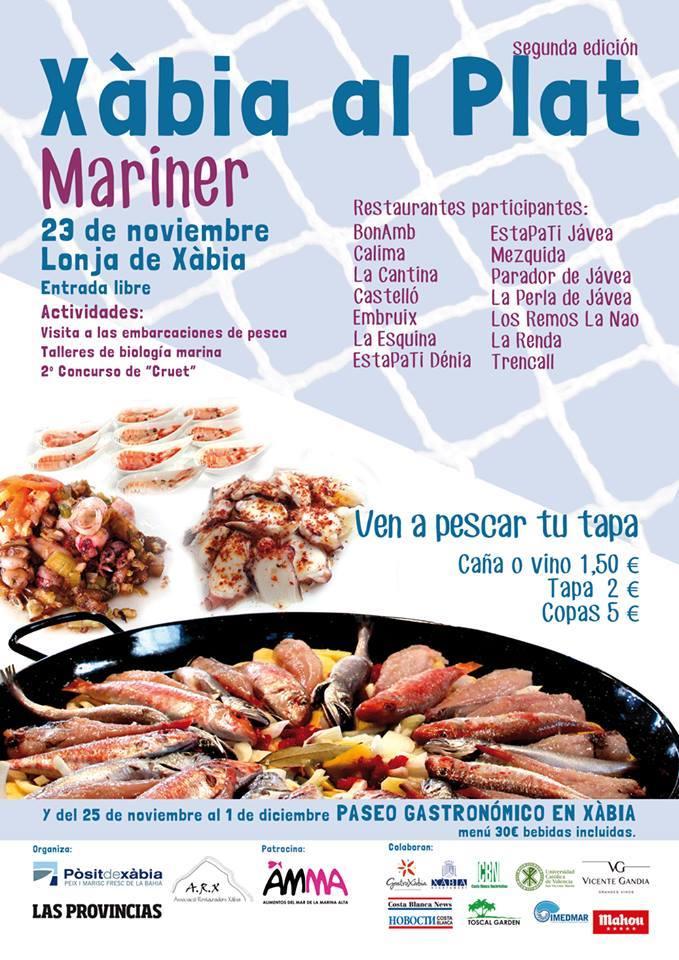 """In der Fischbörse von Jávea – 23.November """"Xàbia al Plat Mariner 2013"""", Mario Schumacher Blog"""