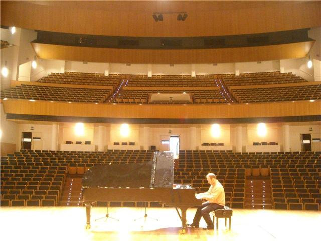 """Klavierkonzert von """"István Isaac Székely""""… Concierto de Piano 23.Noviembre en Calpe, Mario Schumacher Blog"""