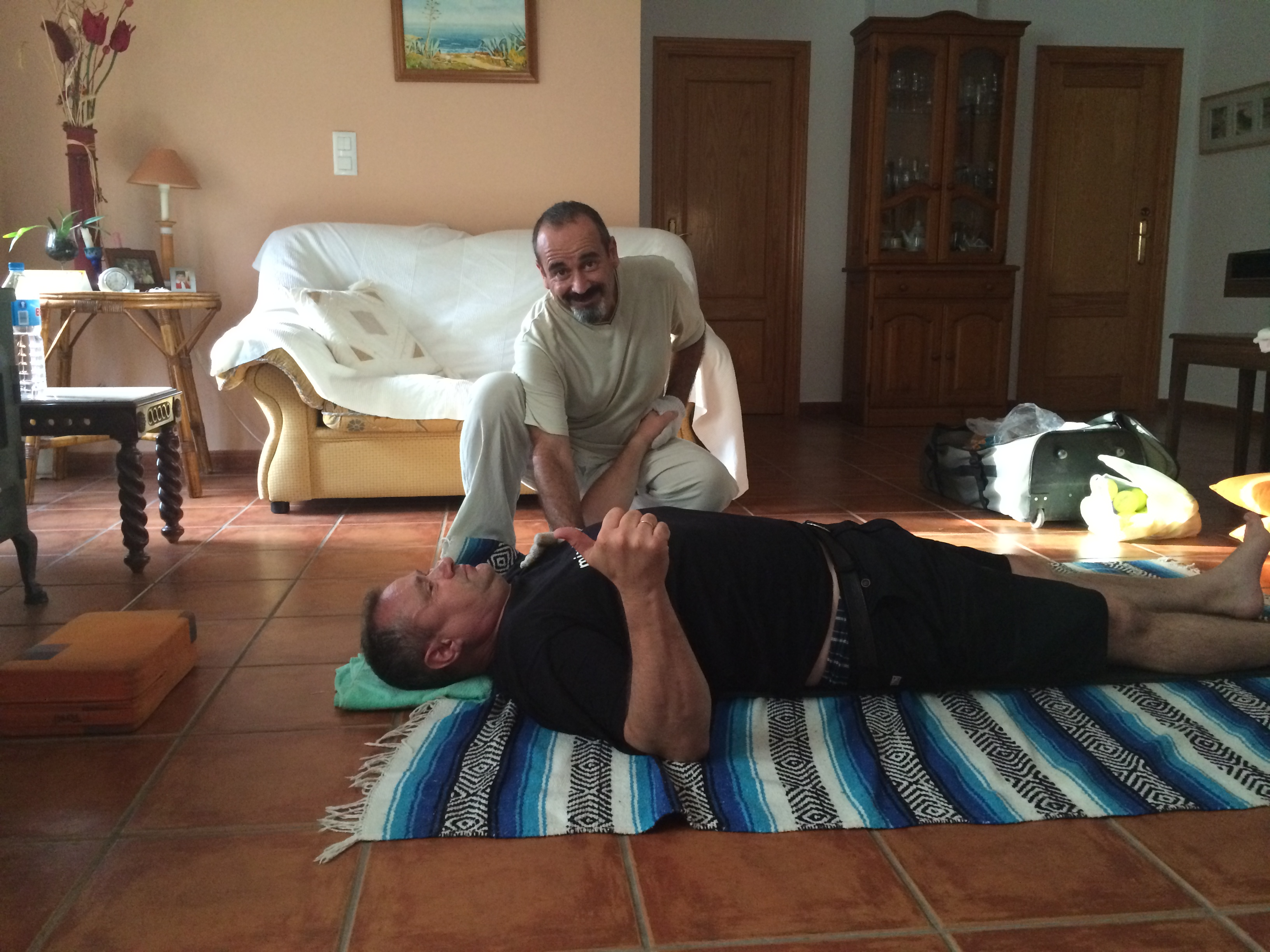 Mal wieder in Dénia …und da schmerzt der Rücken, Mario Schumacher Blog
