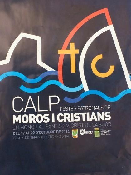 Falta poco… Fiesta Moros y Cristianos en Calpe del 17.- 22.Octubre 2014, Mario Schumacher Blog