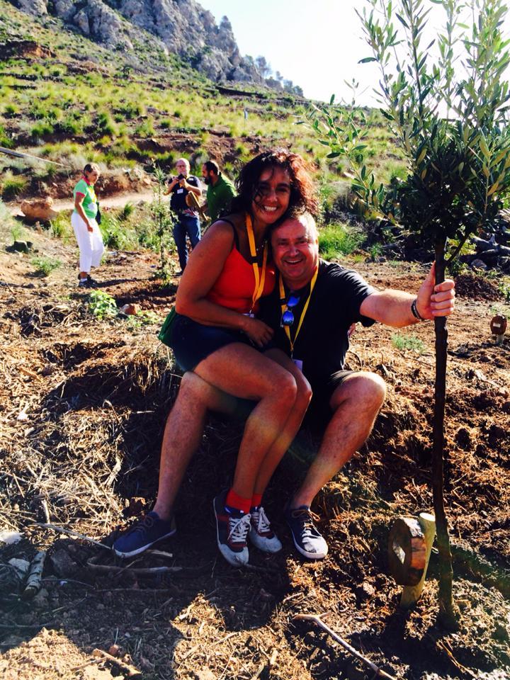 """Nach Mallorca um einen Baum zu pflanzen und beim Top-Chef """"Andreu Genestra"""" zu speisen, Mario Schumacher Blog"""