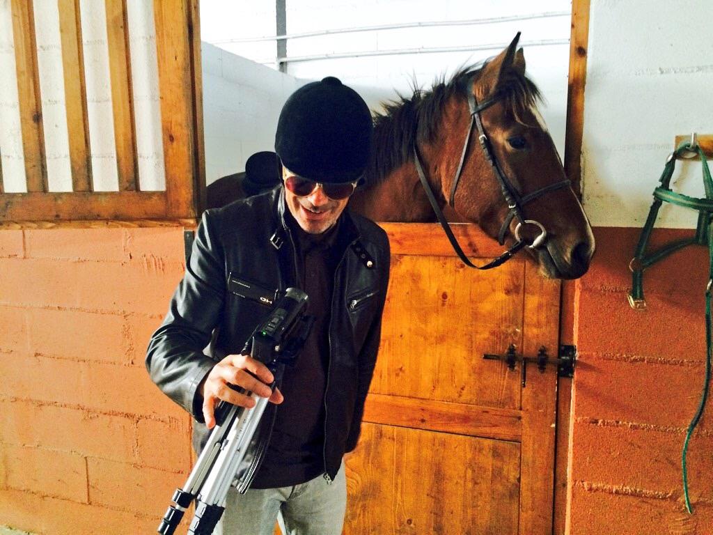 Viajando con Diego ... hablando con los caballos