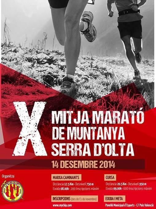 X Mitja Marató de Muntanya Serra d'Oltà – 14.Diciembre en Calpe (Costa Blanca), Mario Schumacher Blog