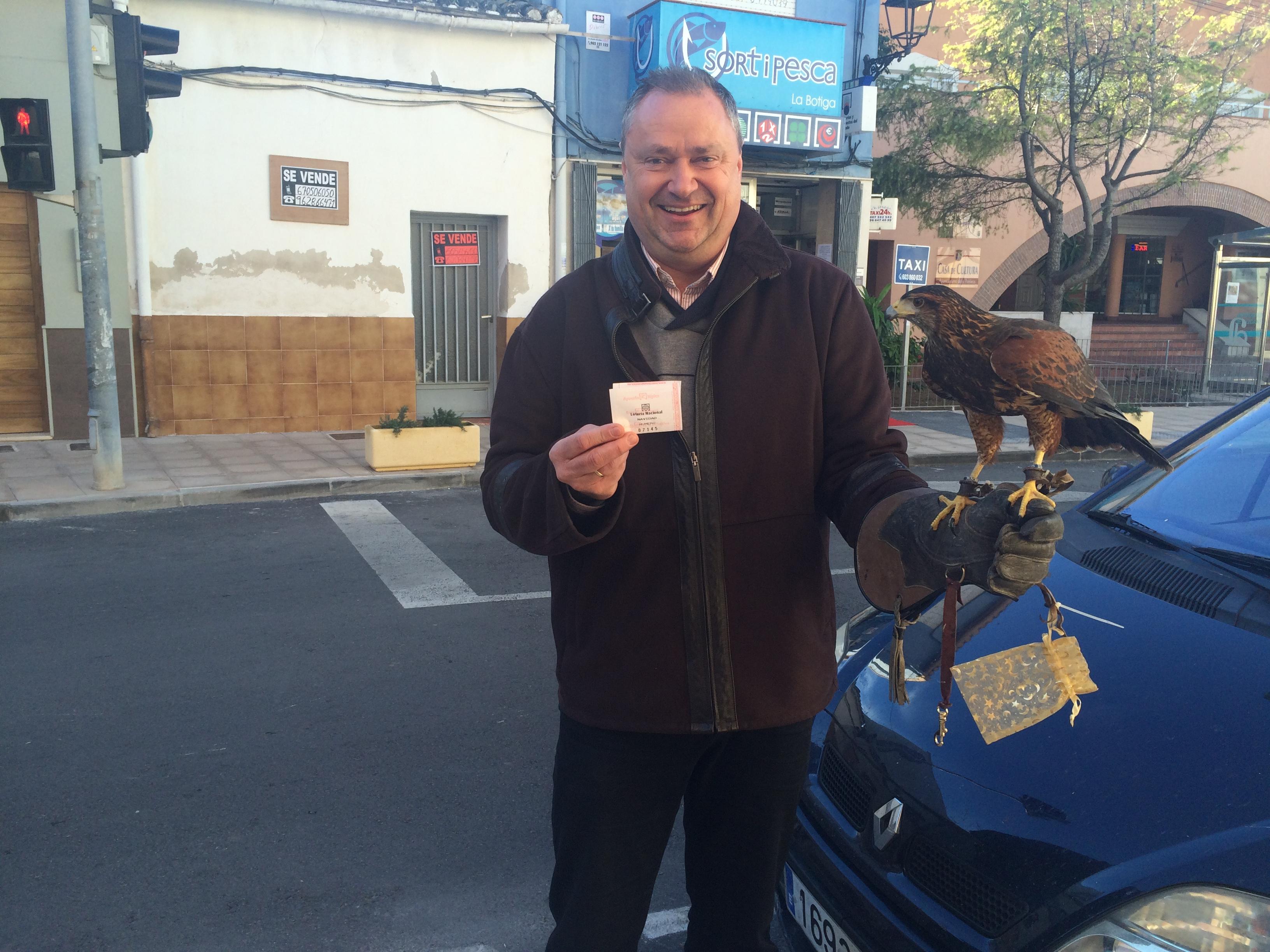 ¿Y si te trajese un noble águila tu décimo de Navidad?, Mario Schumacher Blog