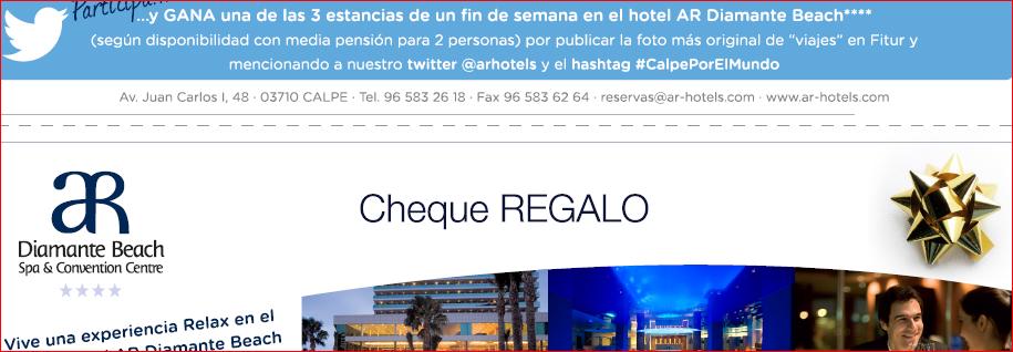 Éxito con #CalpePorElMundo y visita con AR Hotels a 55 países en Fitur 2015, Mario Schumacher Blog