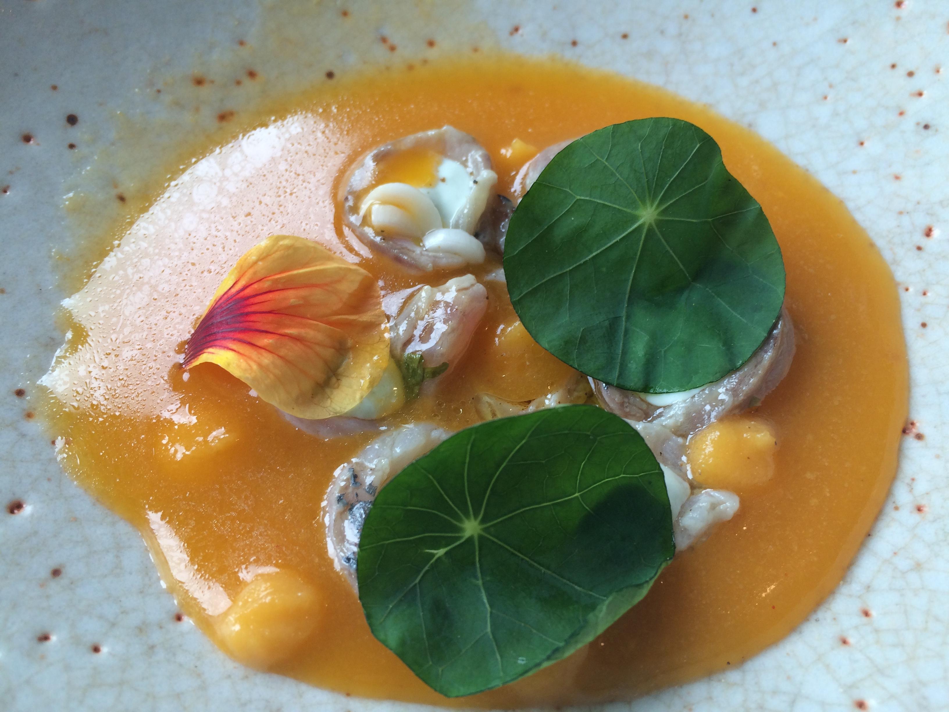 """Speisen im restaurante Bon Amb von Jávea (Spanien) beim Sterne-Koche """"Alberto Ferruz"""""""