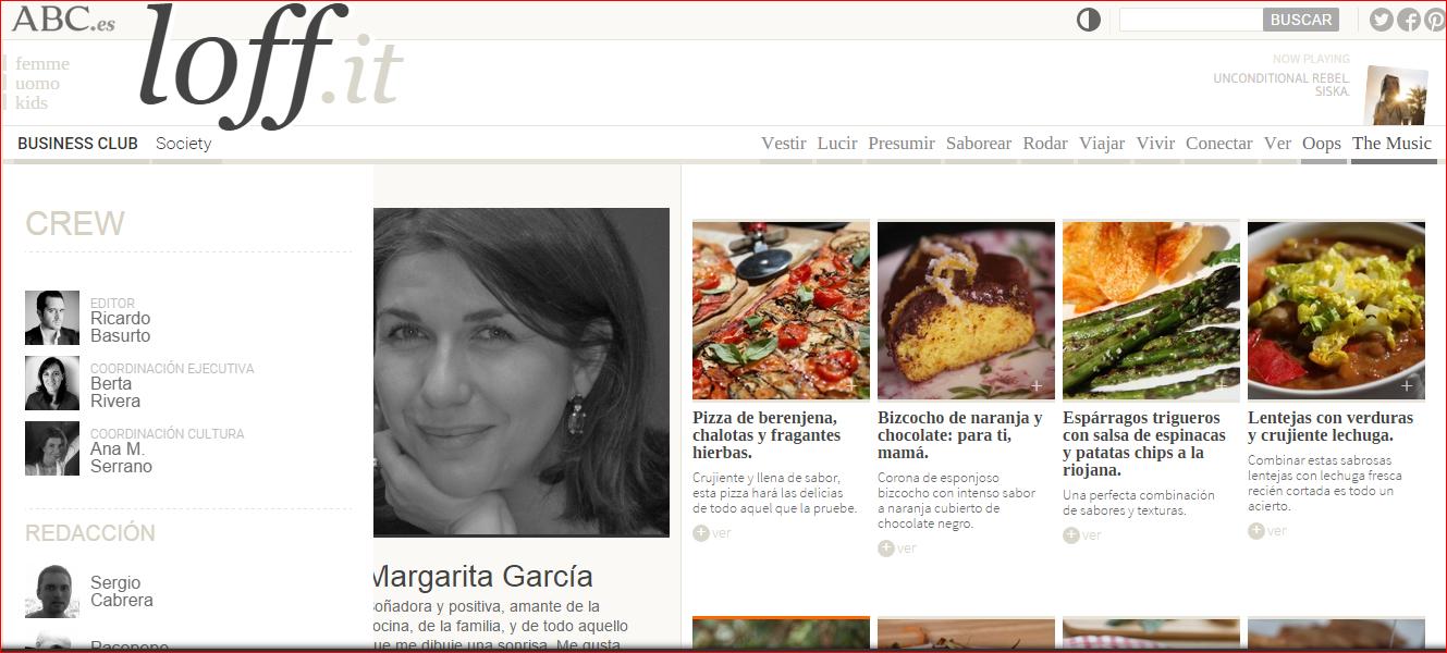 """GastroAmante """"Margarita García"""". Su pasión: ¡Cocinar!, Mario Schumacher Blog"""