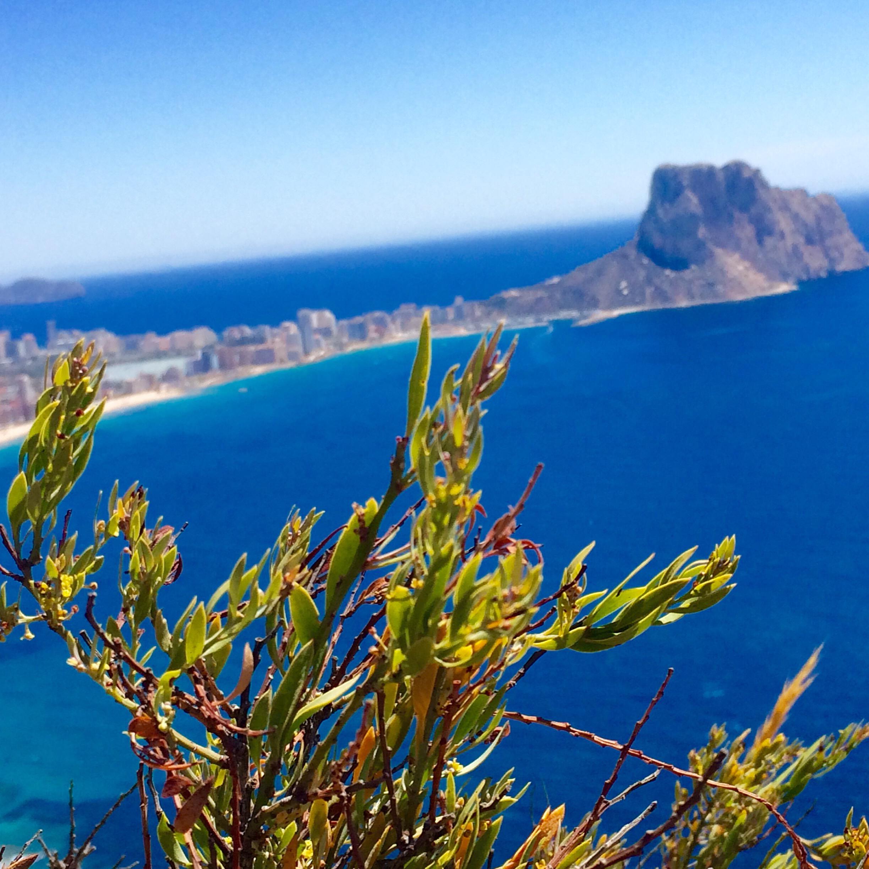 Vom Morro de Toix… einzigartige Aussicht auf den Peñon de Ifach von Calpe!!!, Mario Schumacher Blog