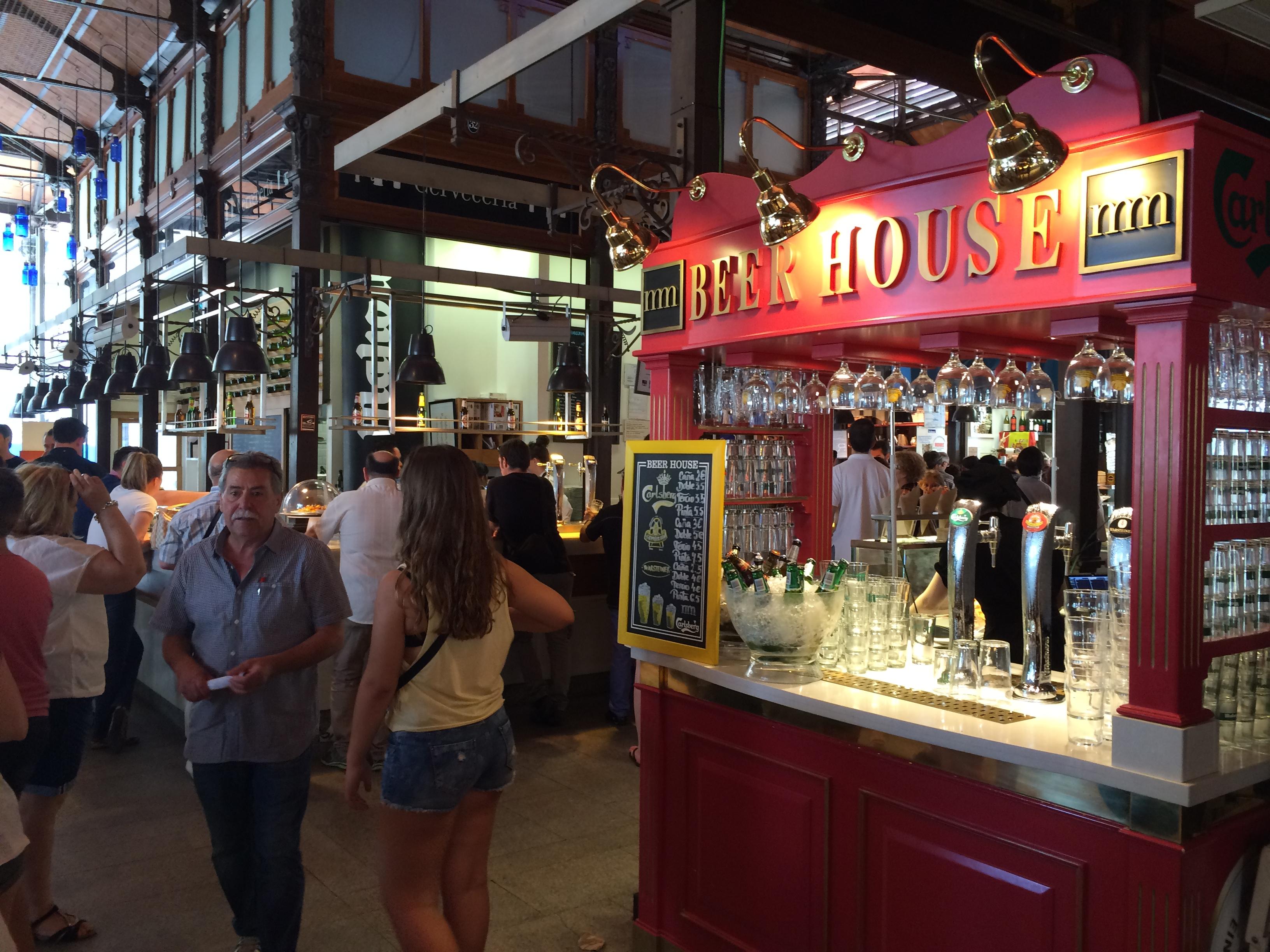 """Mercado de """"San Miguel"""" in Madrid, elegantes Beispiel für Kreativität und Gastro-Tourismus, Mario Schumacher Blog"""