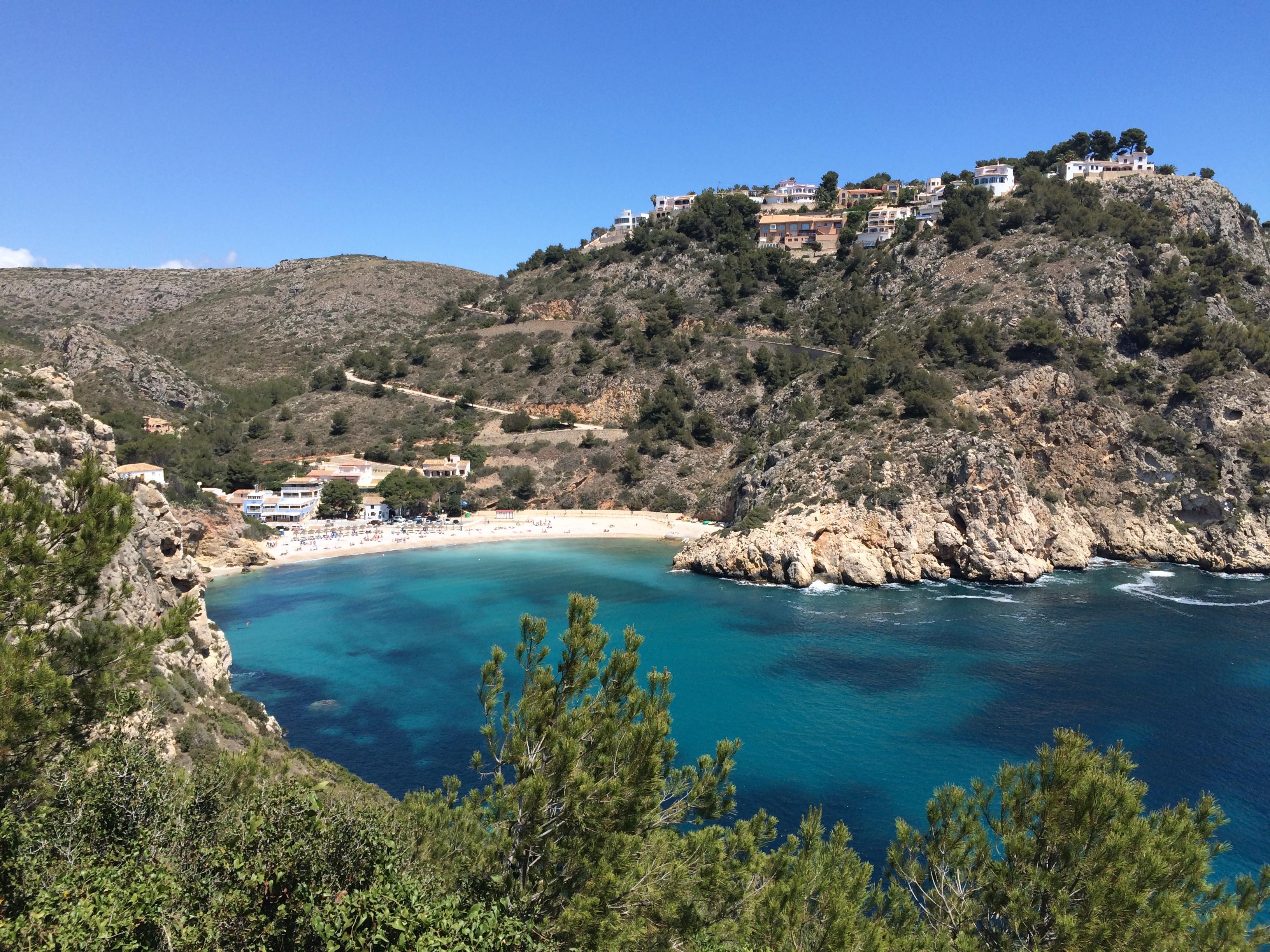 """Urlaubsstimmung garantiert… Granadella-Bucht und das """"Restaurante Sur"""" in Jávea/Xàbia, Mario Schumacher Blog"""