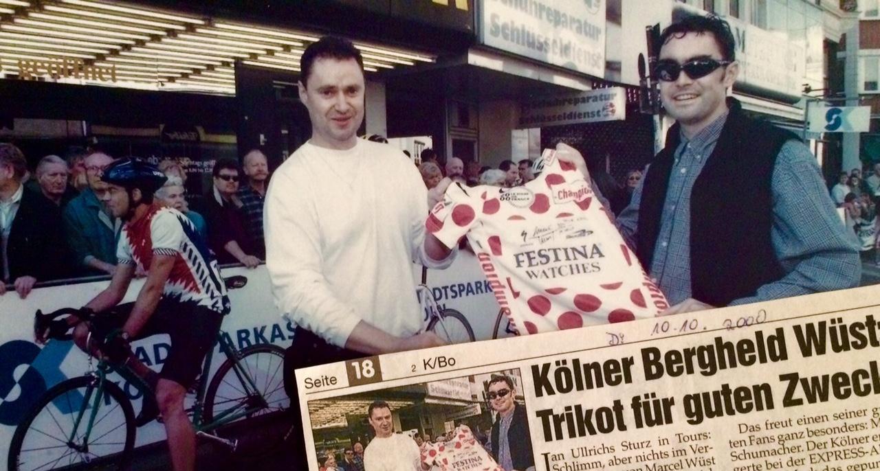 15 Jahre später… Bergtrikot der Tour de France 2000 von Marcel Wüst – Radsportler aus Köln, Mario Schumacher Blog