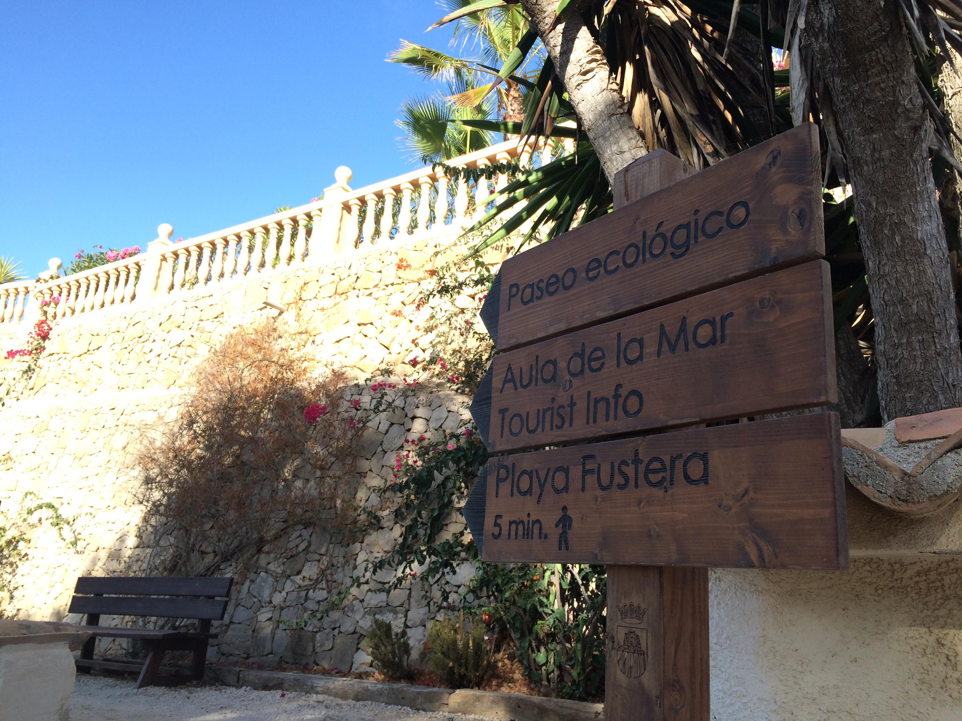 Ökologischer Wanderweg an der Küste von Benissa und Calpe