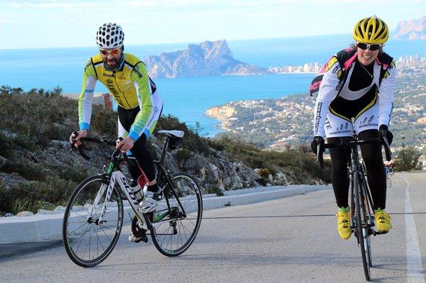 Campus ciclismo en Calpe - Foto: de Eduardo Chozas