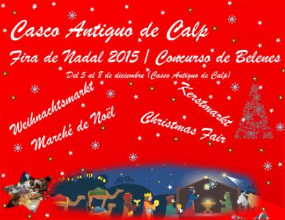 Fira de Nadal del 05.- 08.Diciembre – Weihnachtsmarkt Calpe 2015, Mario Schumacher Blog