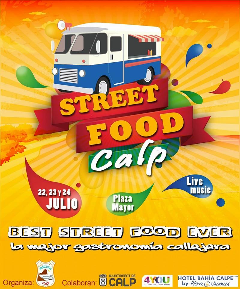 """Algo diferente pasará del 19-21.Agosto en Calpe """"Street Food Calp"""", Mario Schumacher Blog"""