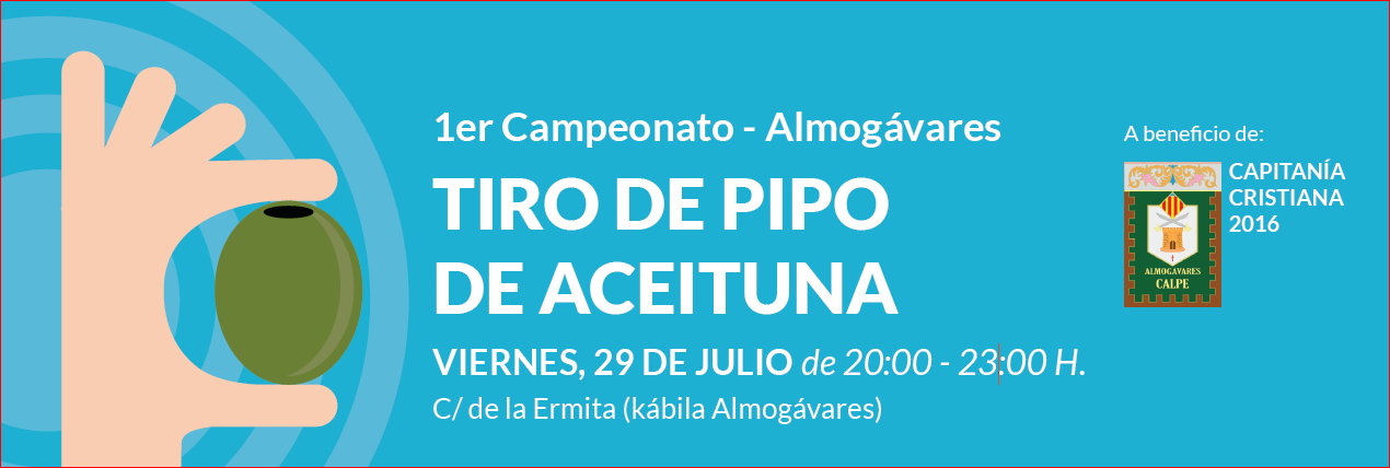 """1º Campeonato-Almogávares """"TIRO de PIPO de ACEITUNA""""- 29.Julio en Calpe, Mario Schumacher Blog"""