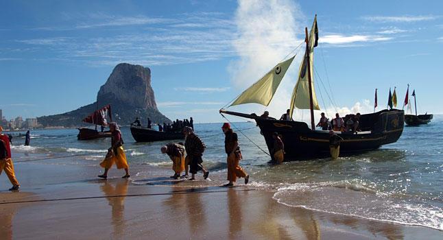 Fiestas de Moros y Cristianos 2016 en Calpe: 14-16.Octubre + 21-23.Octubre en honor al Santísimo Cristo del Sudor, Mario Schumacher Blog