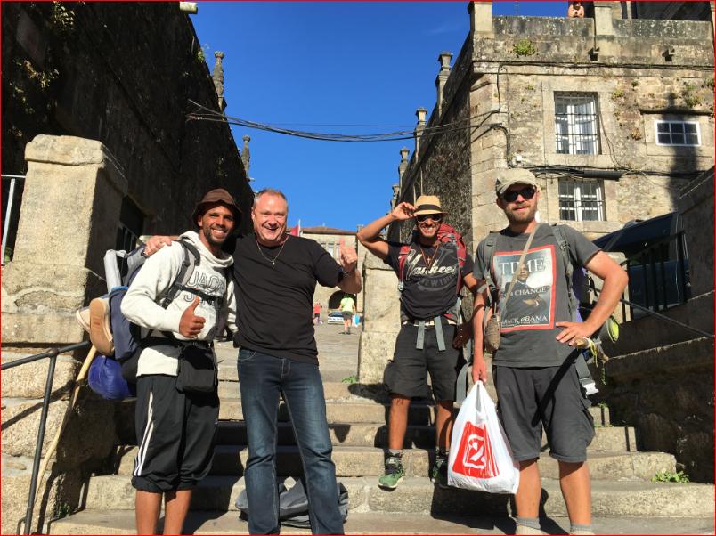 Zwischen Pilgern und dem Jakobsweg in Santiago de Compostela (Spanien), Mario Schumacher Blog