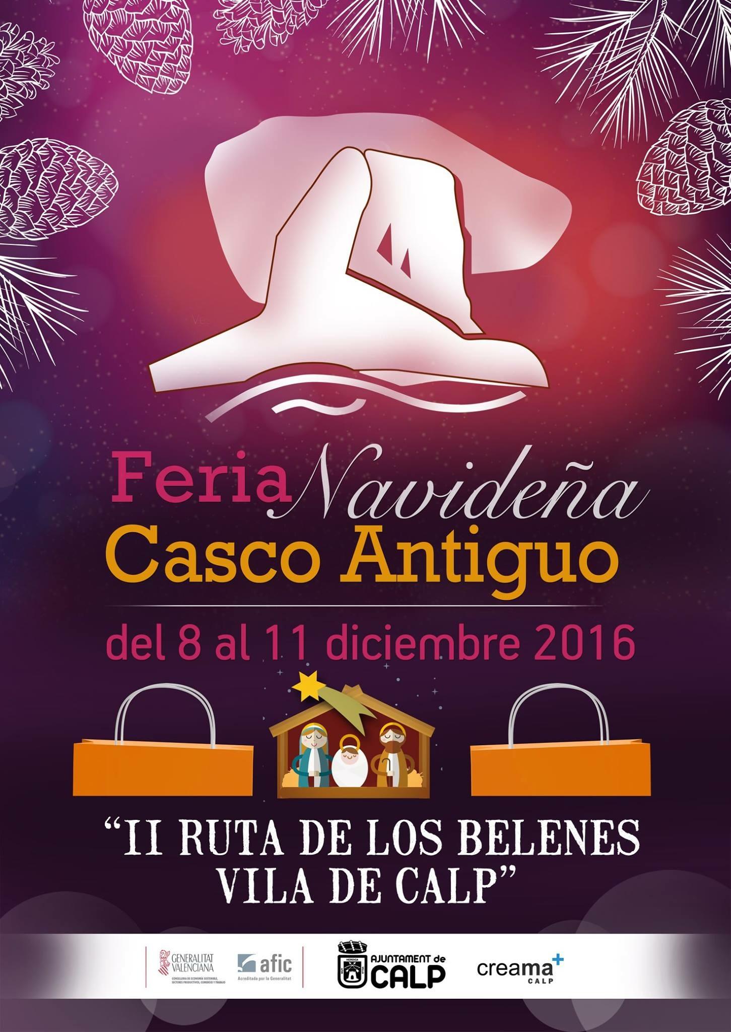 Feria Navideña en Calpe – 08 al 11 de Diciembre 2016, Mario Schumacher Blog