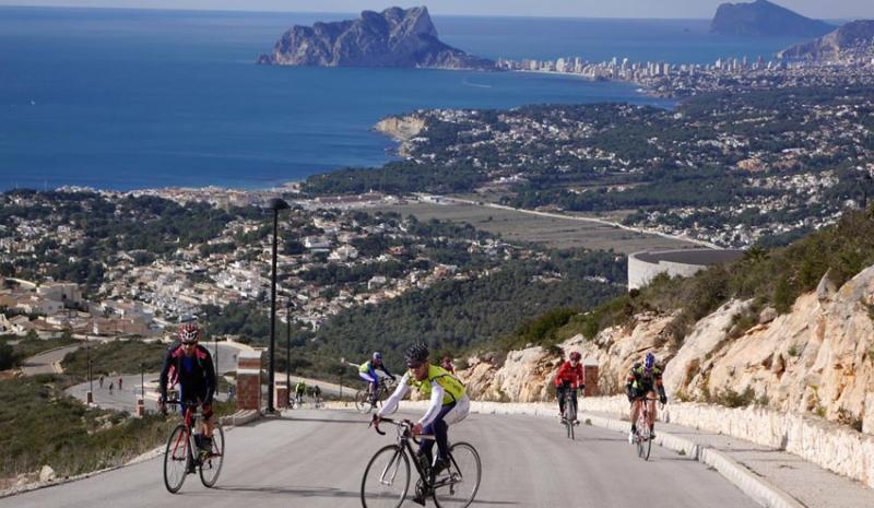 "XII Campus de Ciclismo Eduardo Chozas  ""Actívate"" Calpe, del 15 al 19 de Febrero 2017, Mario Schumacher Blog"