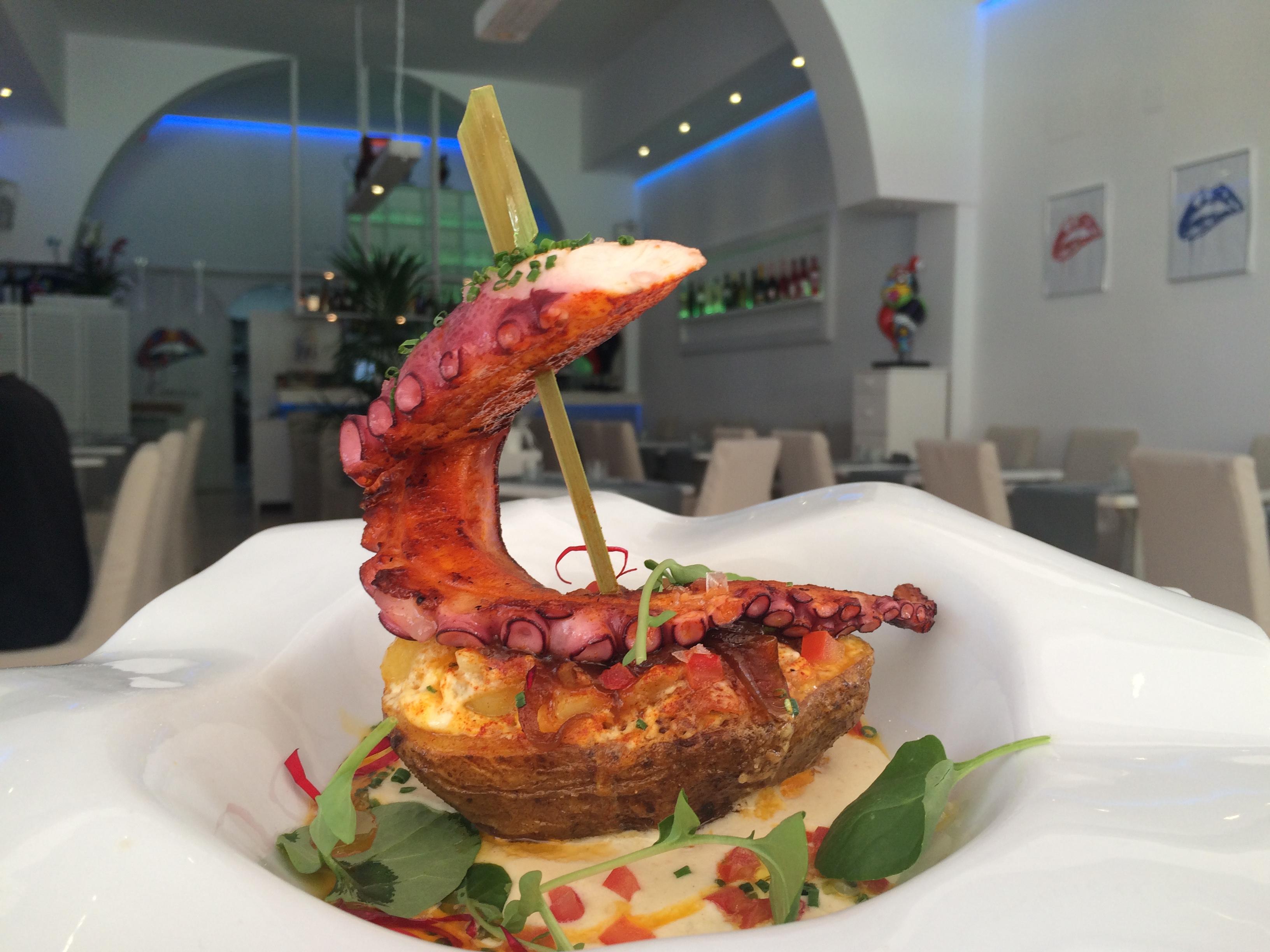"""Restaurante""""Kanaiia Centro"""" in Calpe an der Costa Blanca (Spanien)"""