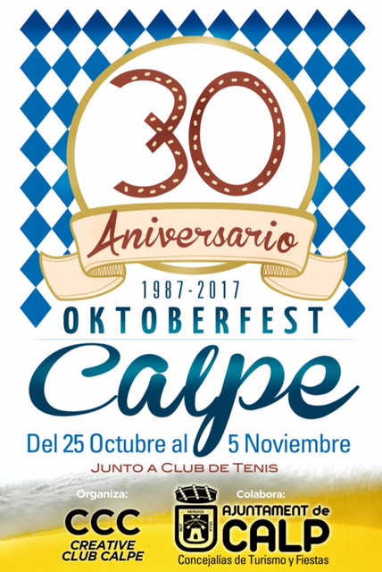 La Fiesta de la Cerveza Calpe / Oktoberfest Calp – 25.Octubre – 05.Noviembre 2017, Mario Schumacher Blog