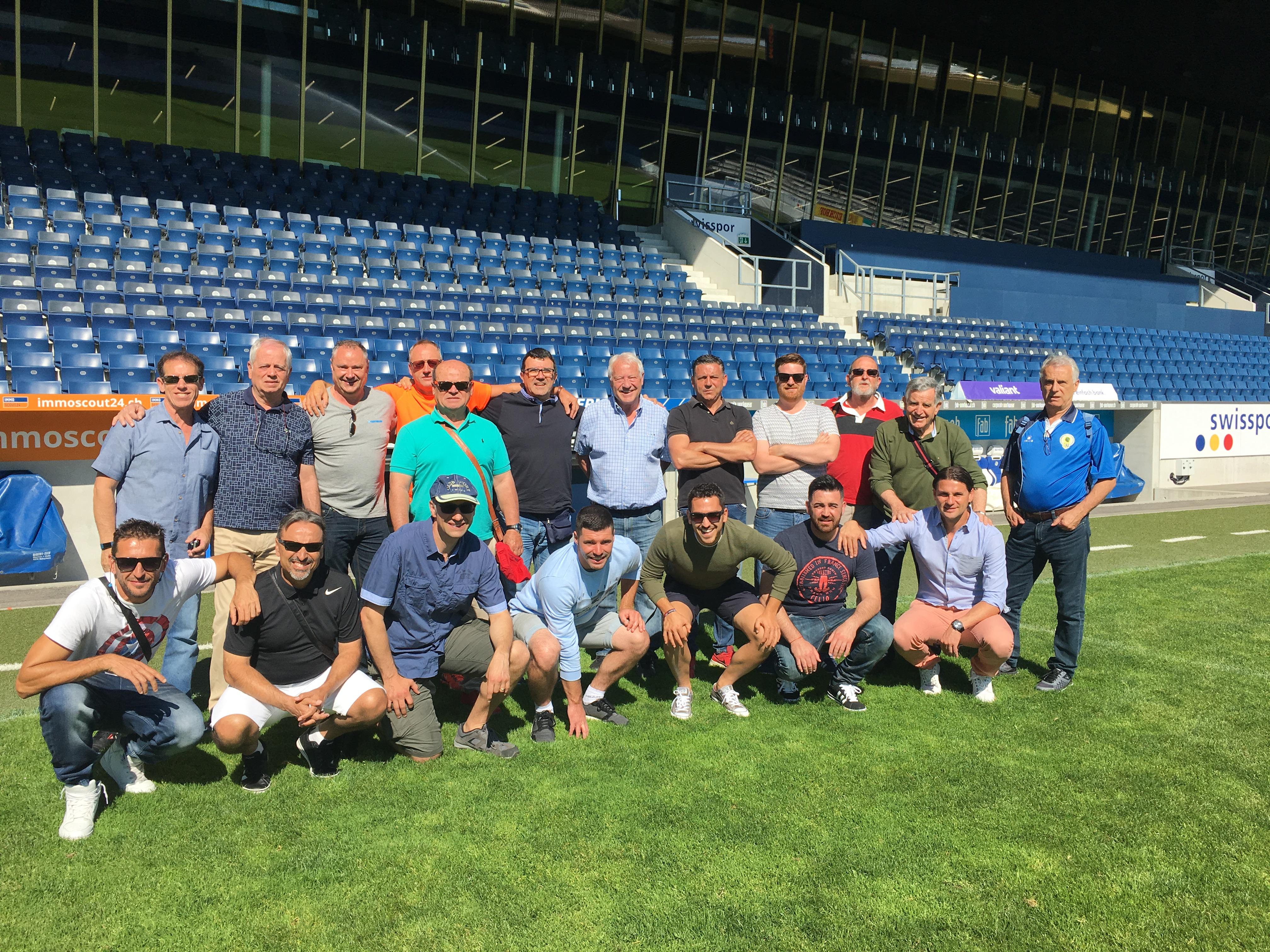 Amistad internacional de fútbol: Calpe (España) con Meggen (Suiza), Mario Schumacher Blog