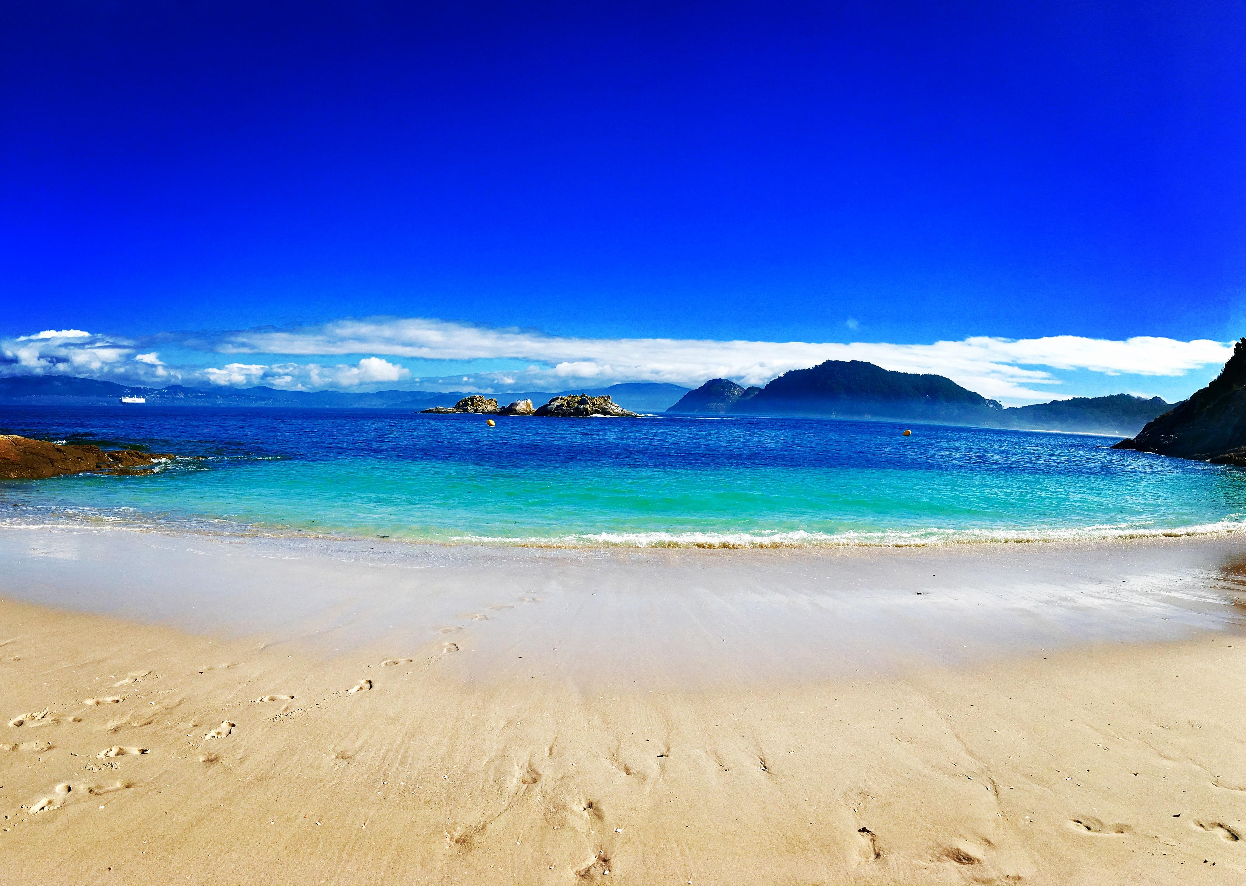 Playa Islas Cies - Galicien (Spanien)