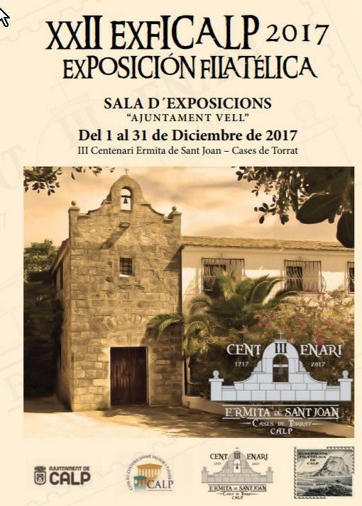 XXII EXFICALP,  del 1 al 31 de Diciembre 2017 en Calpe, Mario Schumacher Blog