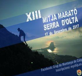 XIII Mitja Marató Serra d'Oltà Calp (Media Maratón Sierra de Oltà Calpe) – 17.Diciembre 2017, Mario Schumacher Blog
