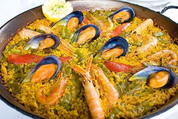 Restaurante Trencall in Jávea (Spanien) - Arroz meloso de marisco