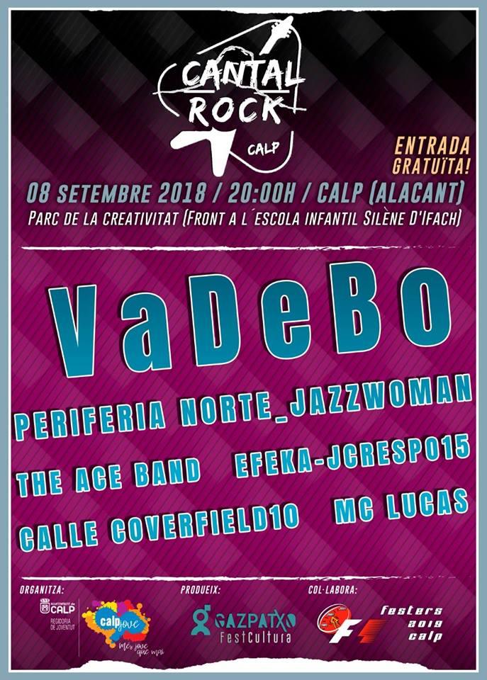 Festival Cantal Rock – 08.Septiembre 2018 en Calpe, Mario Schumacher Blog