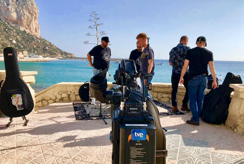 The Ace Band y las fiesta de Calpe  el 30 de Diciembre en RTVE /La 2, Mario Schumacher Blog
