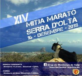 XIV Mitja Marató Serra d'Oltà Calp – 16 de Diciembre 2018, Mario Schumacher Blog
